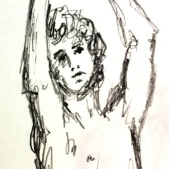 Arms Raised Sketch