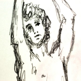 Arms Raised Sketch