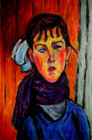 Marie Daughter of the People after Modigliani
