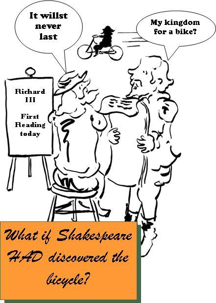 What If Shakespeare - Bike