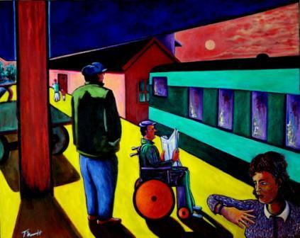 Departure, Limerick Station, Ireland