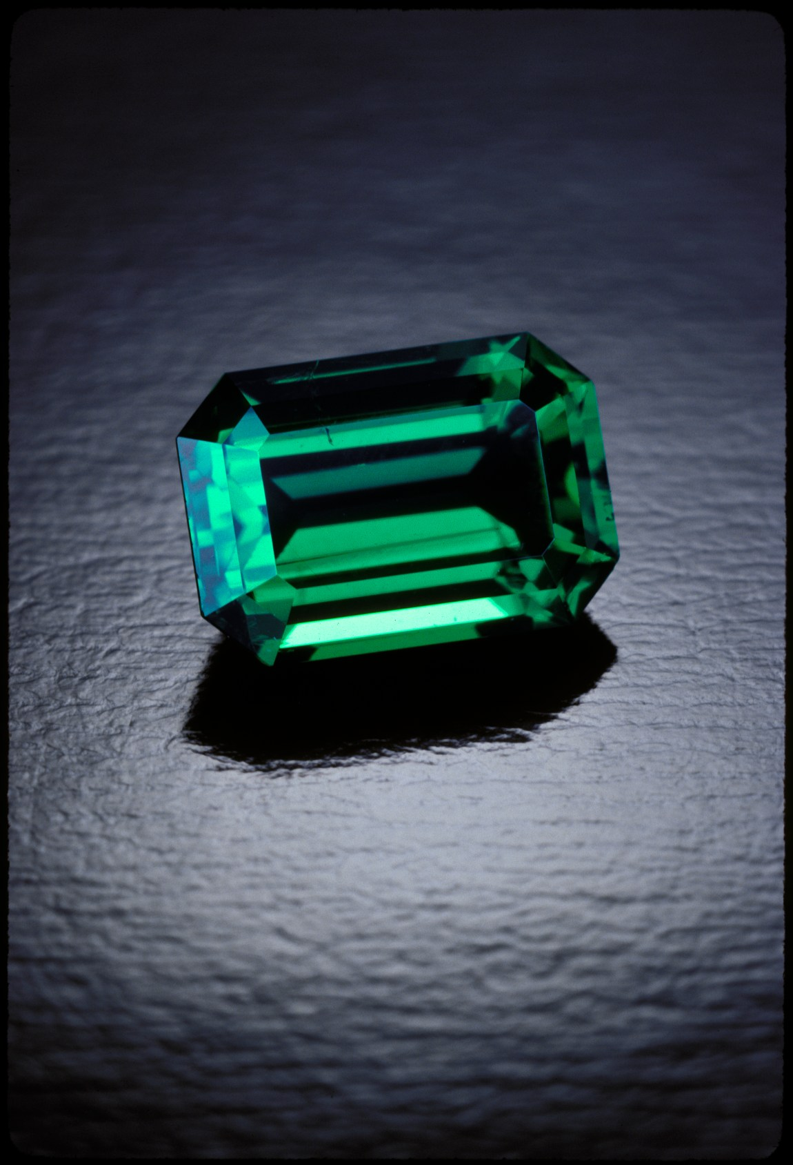 Colombian Emerald: Photo by Tino Hammid - Emeralds featured in the World Gem Foundation Courses