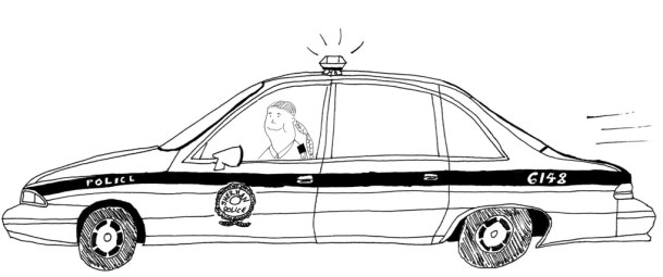 K cop car