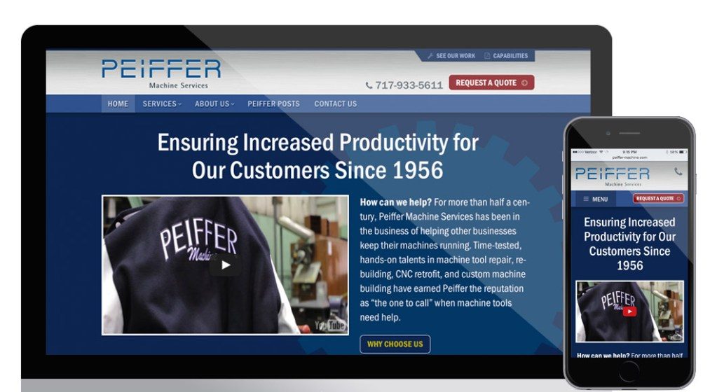 Peiffer Machine website