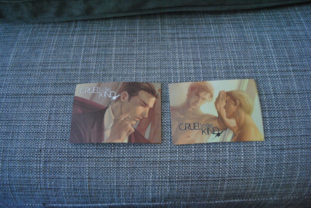 Guilt Pleasure--Cruel to be Kind SWAG Mini Postcards-01