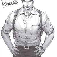 Sketched: David Krause