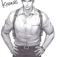Sketched: David Krause