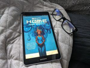 random shelf_Nnedi Okorafor--Binti - Home