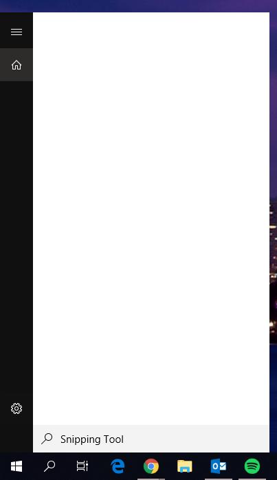 win 10 1709 start menu not working