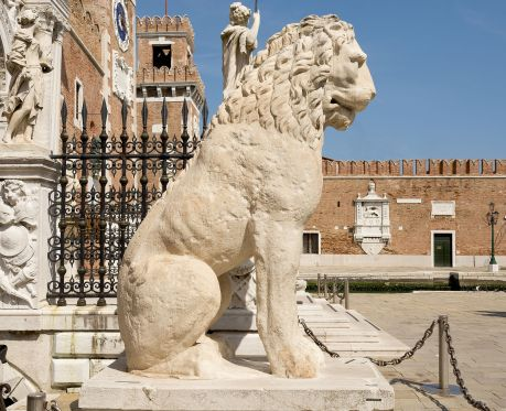 Arsenale_(Venice)_-_First_Ancient_Greek_lion