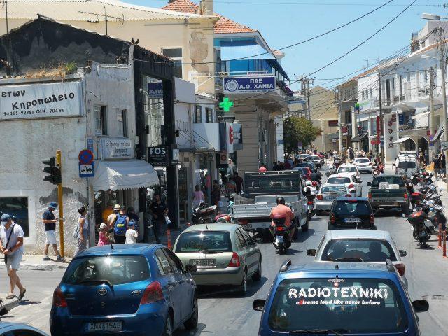 Grekernas brist på trafikvett