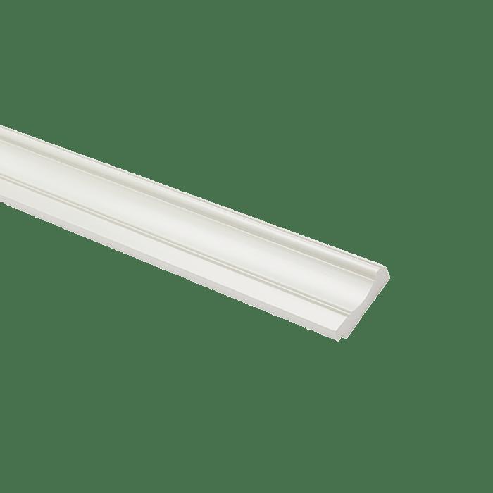 Baseboard W-80 Pure White 2400x80x13