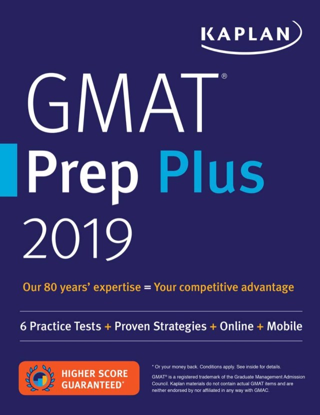 GRE Prep Plus 2019: Practice Tests + Proven Strategies