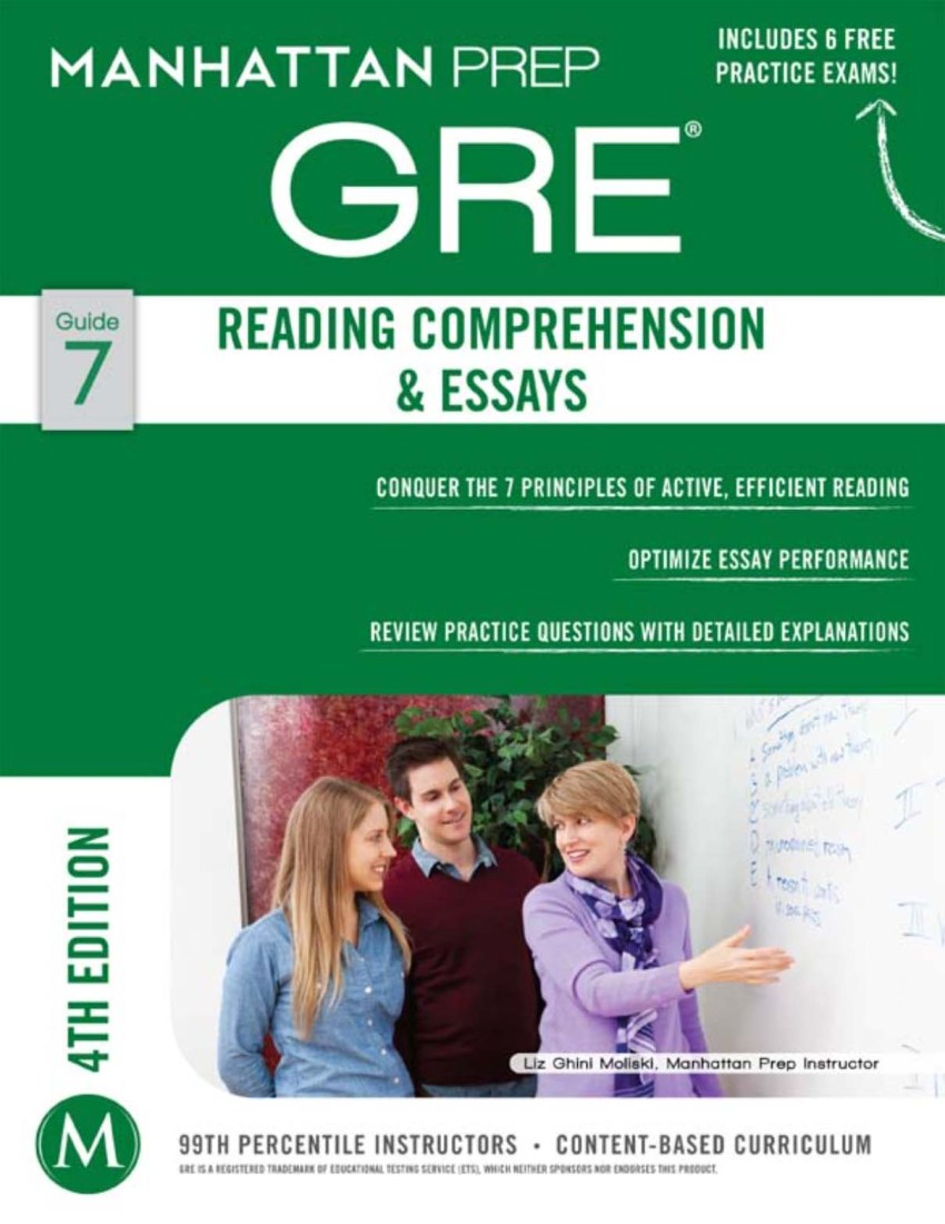 Manhattan Prep's Reading Comprehension & Essays