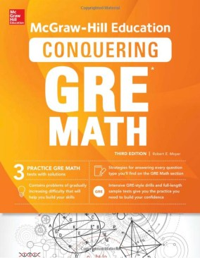 McGraw-Hill Education's Conquering GRE Math