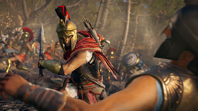 Alexios en una batalla