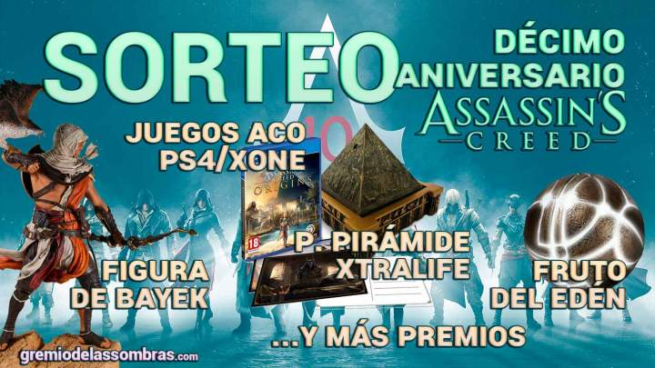 Sorteo décimo aniversario Assassin's Creed
