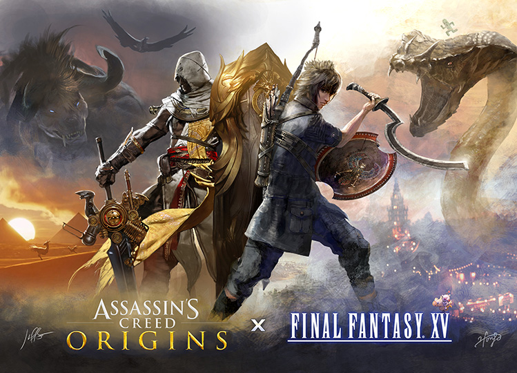 Assassin's Creed Origins x Final Fantasy XV