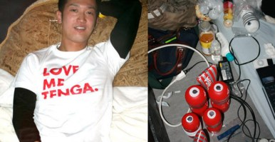 Masanobu Sato, an employee of the Japanese sex toy manufacturer Tenga, is a world champion in … masturbation. He has competed at the San Francisco Masturbate- a- thon, where he gave tips and techniques to the crowd at the event. He is a long- distance masturbation champion.