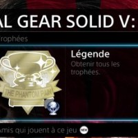 [Trophee]Platine 109:Metal Gear Solid V:The Phantom Pain