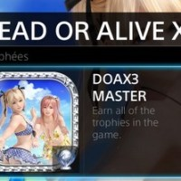 [Trophee]Platine 117:Dead Or Alive Xtreme 3 Fortune edition