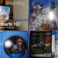[PS4]Reception du jour:Kingdom Hearts 2.8 Hd prologue  edition japonaise