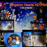 [Unboxing]KingdomHearts HD 1.5/2.5 Remix Limited PS4 e-shop jp