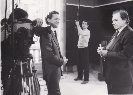 Alain Carignon avec Michel Galabru