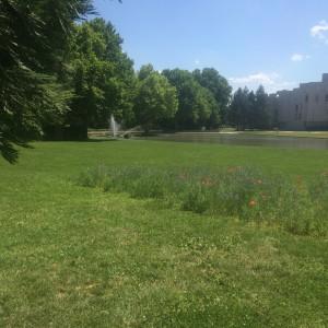 Le parc Pompidou ( 5,5 hectares) réalisation de la municipalité Carignon