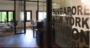 Les bureaux de la société dont E.Piolle est actionnaire à Singapour: le mystère s'épaissit