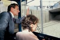 Avec Jeanie Longo qui pilote le Tram