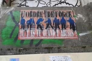 """Phalanstère Street, un des hauts lieux du """"PARCOURS DÉCOUVERTE GUIDÉE"""" du street art grenoblois"""