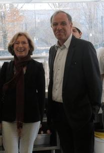 Jean Vaylet avec Geneviève Fioraso (PS) pour promouvoir les emplois aidés qui sont une catastrophe économique