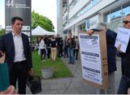 à l'inauguration de Grenoble Habitat