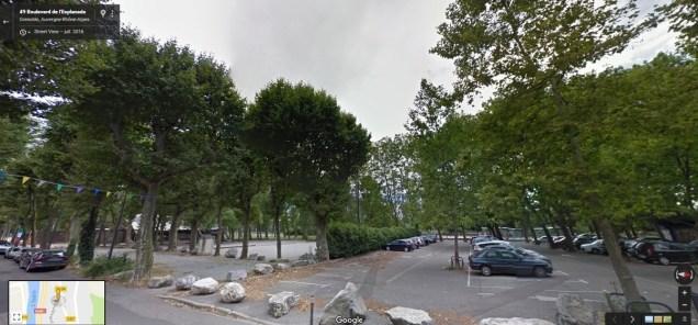 du bout de la grande Esplanade jusqu'à la route de Lyon, tous ces platanes sont menacés