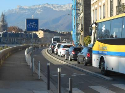 M.Destot (PS) a rendu l'entrée nord de Grenoble ( Quais....