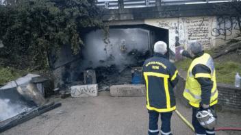 Le passage souterrain à proximité de Mistral stockait du matériel Hi-Fi volé: il a pris feu et l'accès à l'autoroute a été perturbé pendant des semaines