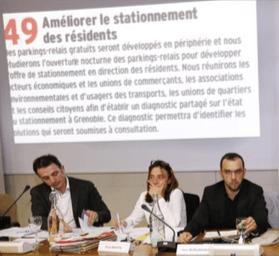 l'engagement 49 piétiné sans vergogne par E.PIolle, E.Martin (PG) , Y.Mongaburu (Verts/Ades)