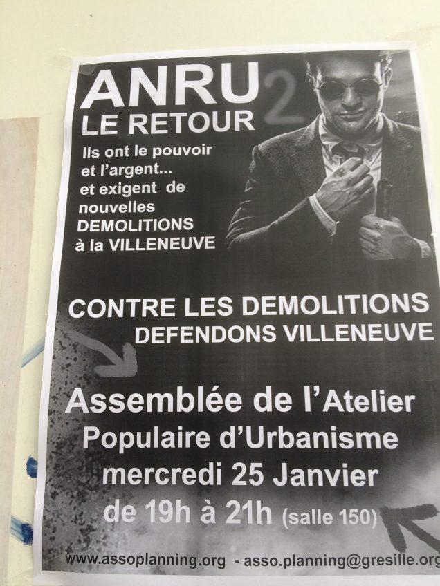 ... s'en prend à l'ANRU pour dédouaner la municipalité