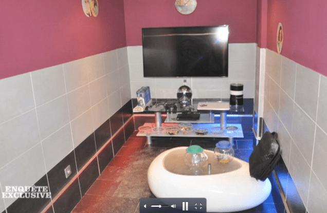 Sous Destot/Safar (PS) les caves de Mistral avaient été organisées en bureaux confortables avec écrans plats reliés à des caméras de vidéo-surveillance permettant de contrôler le trafic de drogue. Personne n'avait entendu les marteaux piqueurs...