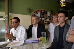 Christian Bec, Alain Carignon, Brigitte Boer, Sébastien Tomasella