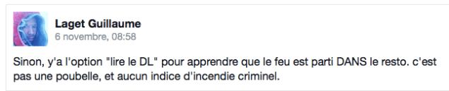 """Guillaume Laget, citoyen """"indépendant"""" membre du comité de soutien de Piolle a retiré ce commentaire ..."""