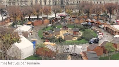 le marché de Noël place Victor Hugo ferme ses portes