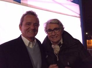 Alain Carignon retrouve son amie Marielle Goitschell notre championne olympique
