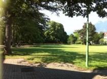 le parc de Marliave à Berriat...
