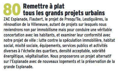 Eric Piolle a menti aux Grenoblois : ses adjoints et l'ossature des élus Verts/Ades de la municipalité sont les auteurs du Plan Local d'Urbanisme sous Destot....