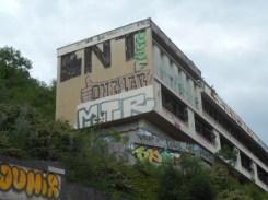 BNT sur les façades : de l'art