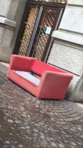 Ce matin l'un des matelas rue Félix Poulat