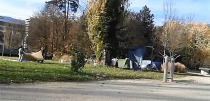 ceux de Valmy ont supporté des mois un camp soutenu par la municipalité