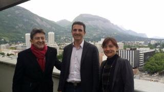 au temps des amours heureuses avec JL Mélenchon et Elisa Martin